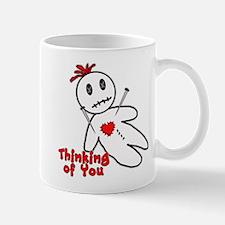 Anti Valentine Voodoo Doll Mug