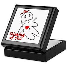 Anti Valentine Voodoo Doll Keepsake Box