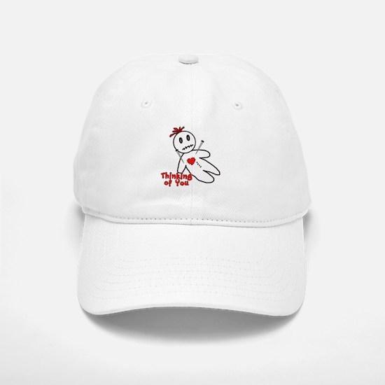 Anti Valentine Voodoo Doll Baseball Baseball Cap