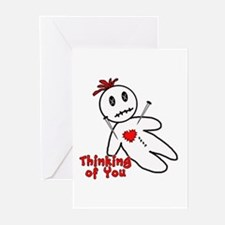 Anti Valentine Voodoo Doll Cards (Pk of 10)
