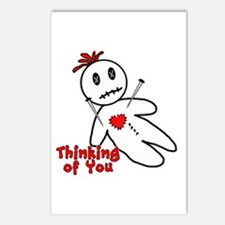 Anti Valentine Voodoo Doll Postcards (Package of 8