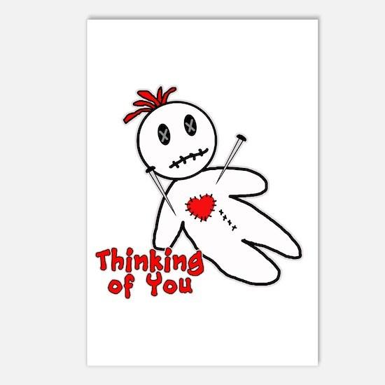 Anti Valentine Voodoo Doll Postcards (Package of 8