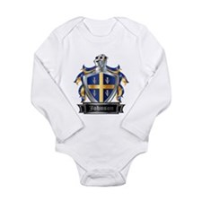 JOHNSON COAT OF ARMS Long Sleeve Infant Bodysuit