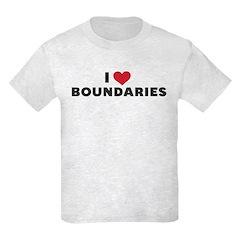 I Heart Boundaries T-Shirt