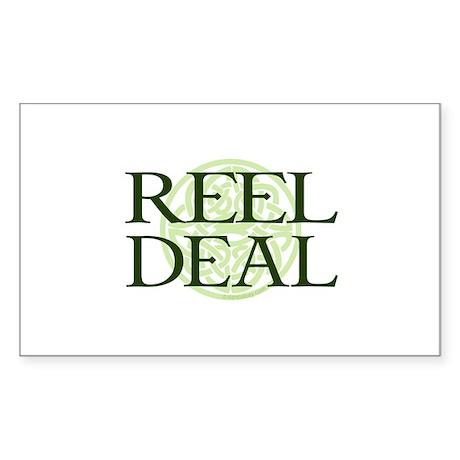 Reel Deal by DanceBay.com Sticker (Rectangle)
