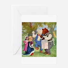 Roosevelt Bears and the Princess Greeting Card