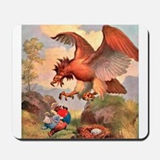 Roosevelt Bears Are Attacked by an Eagle Mousepad