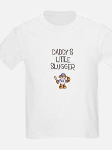 Daddy's Little Slugger (Boy) Kids T-Shirt