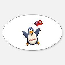 Bermuda Penguin Decal