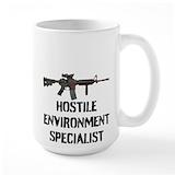Gun Coffee Mugs