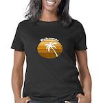 Chagos Chart Women's Fitted T-Shirt (dark)