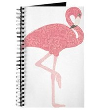 Cute Pink flamingo Journal