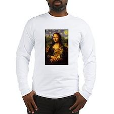"""Mona Van Gogh"" Long Sleeve T-Shirt"