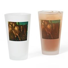 The Herd Drinking Glass