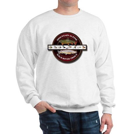Trout Fishing Sweatshirt