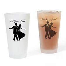 Let Jesus Lead Drinking Glass