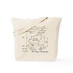 Chagos Chart Tote Bag