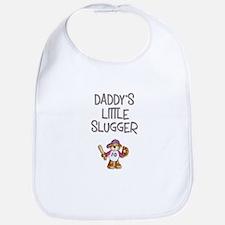 Daddy's Little Slugger (Girl) Bib