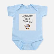 Grandpa's Little Slugger (Boy) Infant Creeper