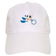Chef Baby Cartoon Baseball Cap