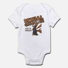 Sexual Chocolate (Retro Wash) Infant Creeper