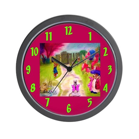 Peter Rabbit Beatrix Potter Children's Wall Clock