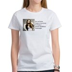 The Real Jesus Forgives Your Women's T-Shirt