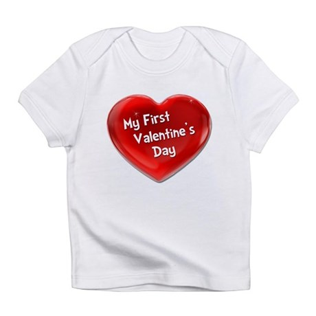 My First Valentine's Day 4 Infant T-Shirt