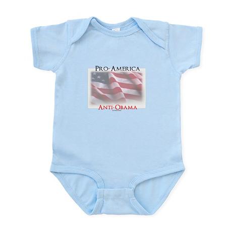 Pro-America Anti-Obama Infant Bodysuit