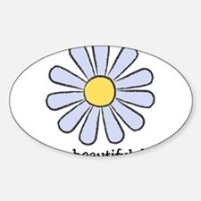 Blue Daisy - Beautiful Day Decal