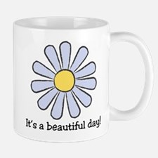 Blue Daisy - Beautiful Day Mug