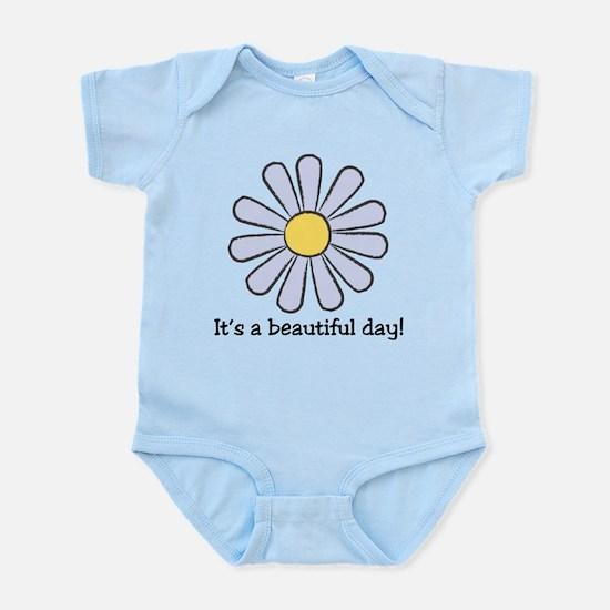 Blue Daisy - Beautiful Day Infant Bodysuit