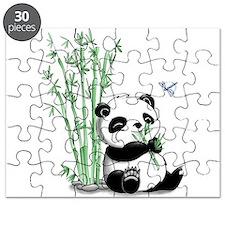 Panda Eating Bamboo Puzzle