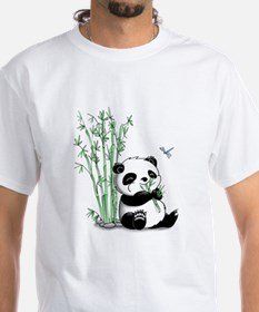 Panda Eating Bamboo Shirt