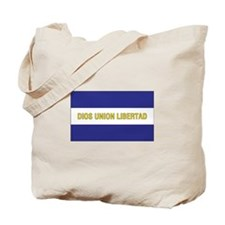 El Salvador Civil Ensign Tote Bag