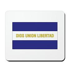 El Salvador Civil Ensign Mousepad