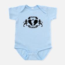 Infant Bodysuit - DDD Black Logo