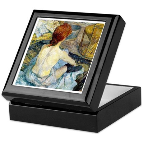 Toulouse Lautrec Bath Keepsake Box