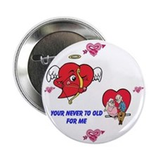 "Happy Valentine's Day 2.25"" Button"