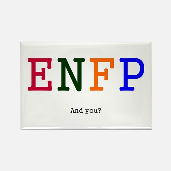 ENFP Personality Goodies Rectangle Magnet