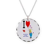 I love You Valentine Necklace