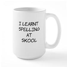I Learnt Spelling Mug