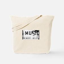 Music 3 Tote Bag