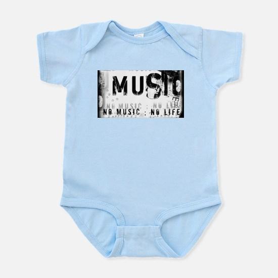 Music 3 Infant Bodysuit