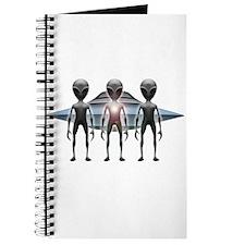 Aliens Landing Journal