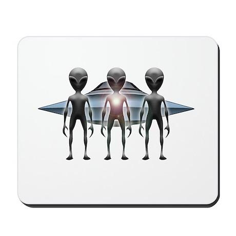 Aliens Landing Mousepad