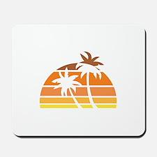 Vintage Beach Mousepad