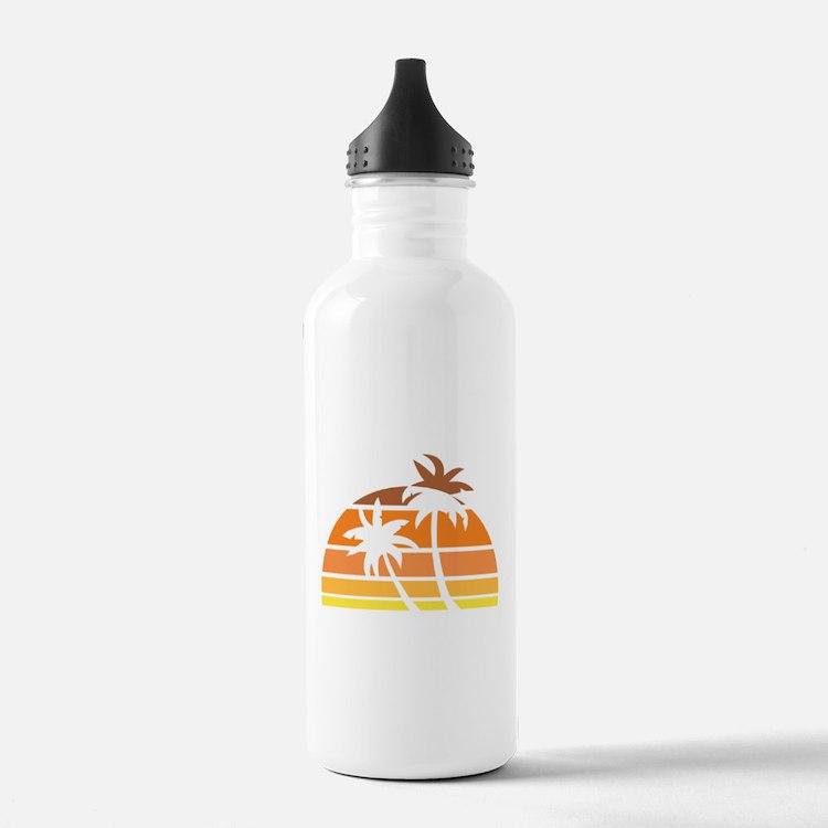 Vintage Beach Water Bottle