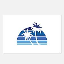 Vintage Beach Postcards (Package of 8)