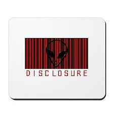 Alien Disclosure Mousepad